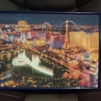 Алмазная картина Лас-Вегас
