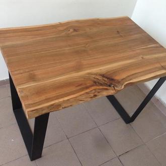 Уникальный стол из массива ореха для офиса, гостиной или кухни