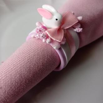 """Кольца для салфеток """"Пасхальные кролики"""""""