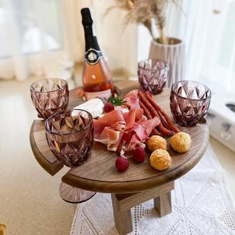 Винный столик, столик для вина и бокалов