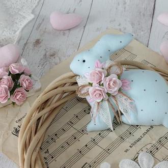 Пасхальный голубой кролик. Отличный подарок