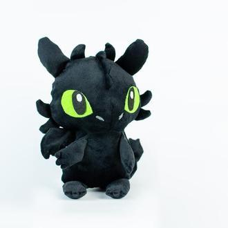 плюшевая игрушка Беззубик Фурия ночь из мультфильма Приручи дракона