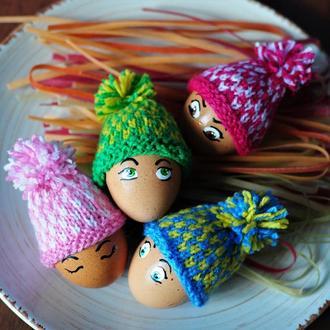 """Шапочки для пасхальных яиц """"Мелкий орнамент"""""""