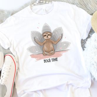 Мужская футболка  Yoga Time