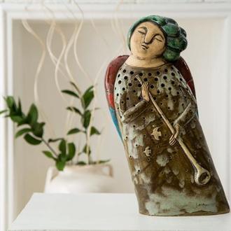 Керамическая скульптура  АНГЕЛ L