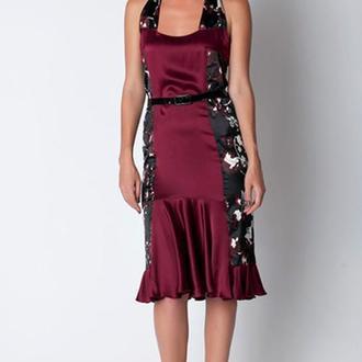 Платье с ремешком от N. Verich