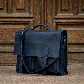 Мужской портфель, Деловая мужская сумка под ноутбук