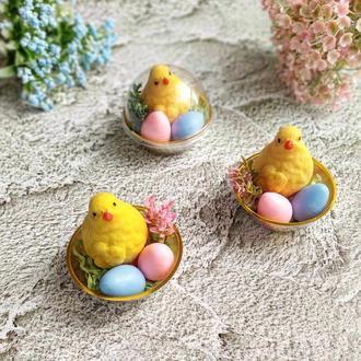 Подарки к Пасхе!❤️ Милые пасхальные цыплята и яйца из мыла 🐣🥚