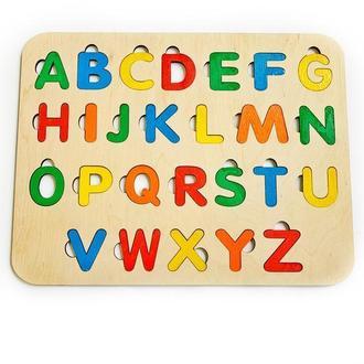 Алфавит,английский алфавит, пазл, сортер, развивающиеся игрушки