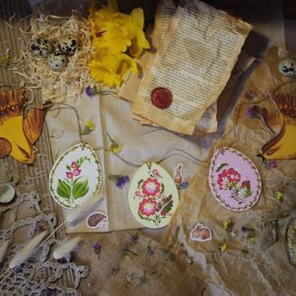 Пасхальная гирлянда декор на пасху украшение на пасху