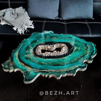 Кофейный столик из эпоксидной смолы