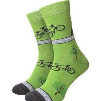 "Носки ""Bike"" з велосипедами"