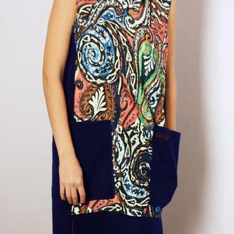 Платье двуцветное от N.Verich