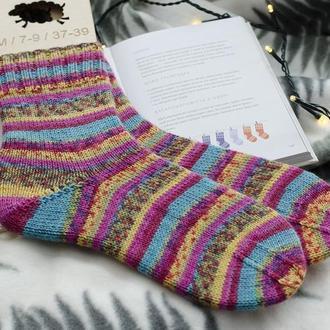 Вязаные носочки. Хюге-носки. Шерстяные носки (в наличии)