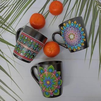 Чашки с росписью
