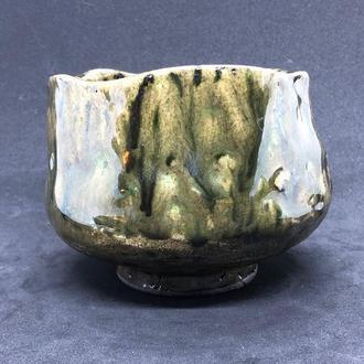 Чаван - чаша для японской чайной церемонии, дровяной обжиг
