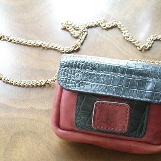 Женская сумка через плечо или на пояс