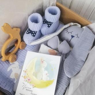 Подарунковий набір для немовляти ЗАЙКА
