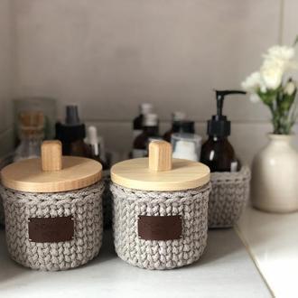 Набор корзин для хранения в ванной