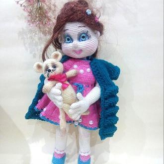 Кукла игровая, интерьерная, подарочная со сьемной одеждой, куклы и пупсы