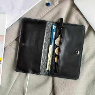 Бумажник для iPhone 8/7 - SEVEN (Brown & Black)
