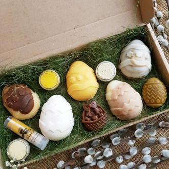 «Сан-Джованни» подарочный набор на Пасху. Подарок. Натуральное мыло, с нуля.