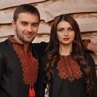 Украинские парные вышиванки М01-229 и П07-229