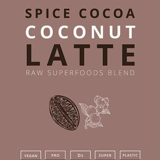 SPICE COCOA COCONUT LATTE | raw смесь суперфудов, 60 g