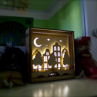 Светильник ночник в детскую комнату