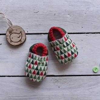 Домашнє взуття для дітей від 0 до 6-ти років
