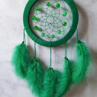 Небольшой зеленый Ловец снов / Невеликий зелений Ловець снів