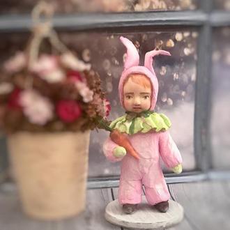 Сувенірна лялька із вати