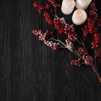 Фотофон черный с просветами дерева для предметной съемки
