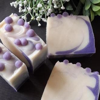 Натуральное мыло с нуля. Ежевика и ваниль ( шелковое )