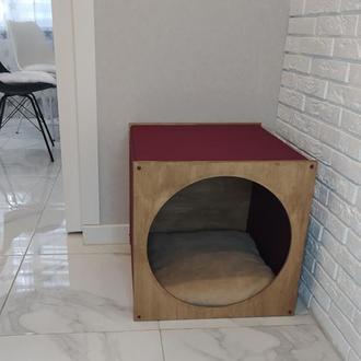 Домик для собаки. Домик для кота