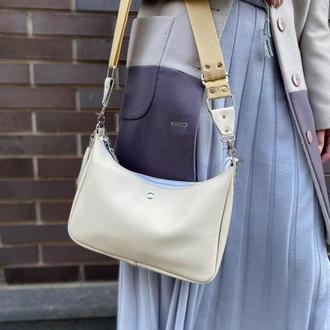Женская кожаная модная сумочка ручной работы