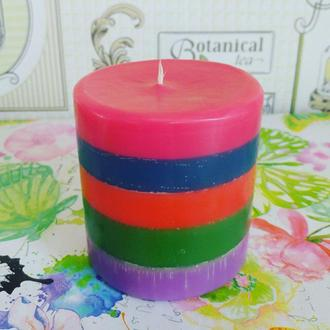 арома свічка Веселка