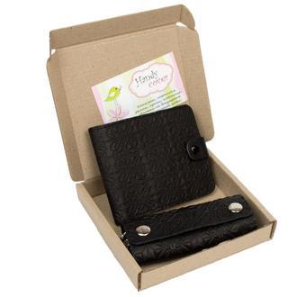 Подарочный набор №8: портмоне П1 + ключница