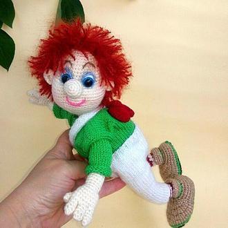 Добрая игрушка Карлсон, кукла мальчик, сказочный человечик,мультяшный герой