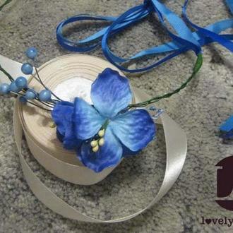 LT Венок повседневный современный Голубая гортензия сити-стайл