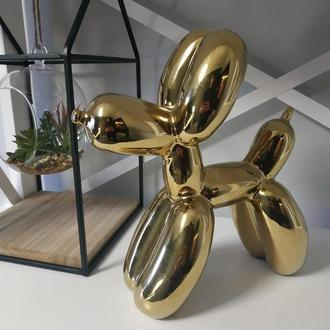 Статуэтка Собака Керамическая Дизайн Balloon Dog Джеффа Кунса h=24см