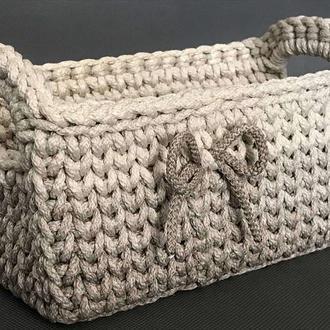 Плетеная корзина.
