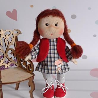 Маленькая куколка. Текстильная кукла. Кукла для девочки.