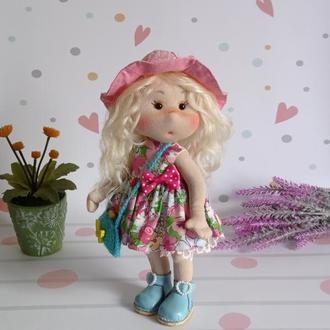 Текстильна лялька. Лялька для дівчинки. Лялька в подарунок.