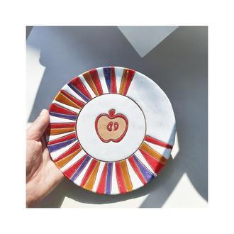 Тарелка Яблоко 19 см