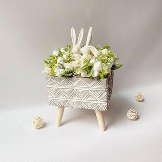Подарок на Пасху Пасхальная композиция. Пасхальный декор. Великодня композиція. Великодній декор