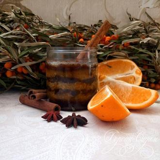 Скраб для тела «Апельсин и Корица»