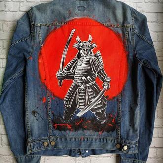 Джинсовая куртка Самурай