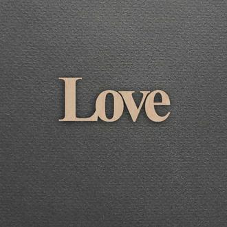 Заготовки для декупажа и росписи, деревянные заготовки для творчества. Love.