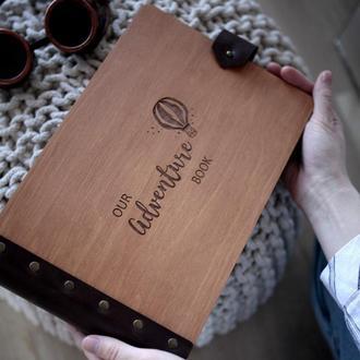 Деревянный фотоальбом! Универсальный подарок!